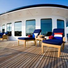 Leander G Yacht Bridge Deck