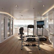 Huntress Yacht Gym