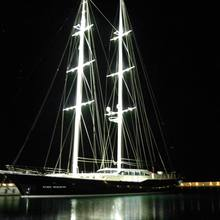 Ubi Bene Yacht Night Shot