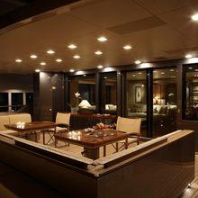 Exuma Yacht Alfresco Dining