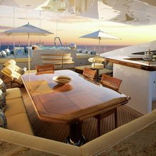 Reef Chief Yacht Exterior Bar - Seating
