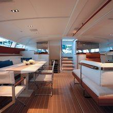Yam 2 Yacht Pilothouse Salon