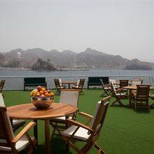 Al Mabrukah Yacht Sundeck