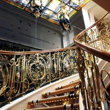 Savarona Yacht Stairwell - Detail
