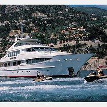 The Lady K Yacht Jet Skis