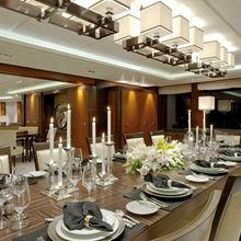 Huntress Yacht Formal Dining