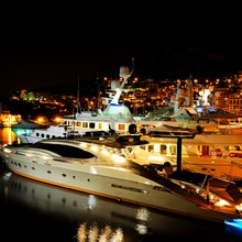 Bagheera Yacht Underwater Lights