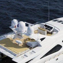 Force India Yacht Aerial View - Sun Lounge