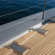 Exuma Yacht Deck Detail