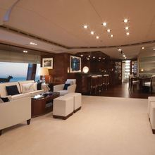 Vision Yacht Upper Saloon
