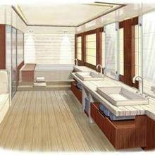 Seven Seas Yacht Artist's Impression - Master Bathroom