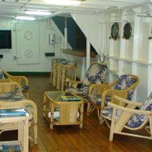 Sarsen Yacht Internal Seating Area