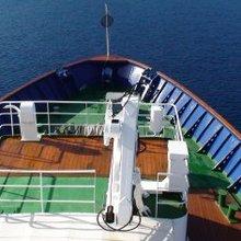 Sarsen Yacht Bow