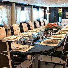 Lady A Yacht Dining Salon