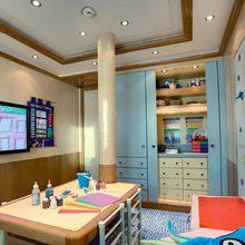 Pegasus VIII Yacht Children's Room