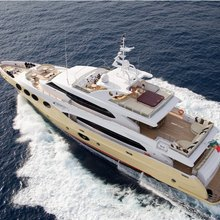 Veneta Yacht Aerial Shot