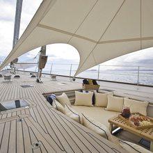 Ethereal Yacht Deck - Bedouin Tent