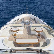 Veneta Yacht Foredeck