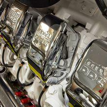 Strega Yacht Engine Room - Detail