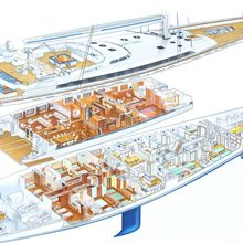 M5 Yacht Deck Plans