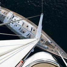 Ethereal Yacht Overhead