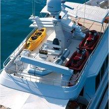 Chosen One Yacht Deck View