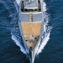 Exuma Yacht Bow View