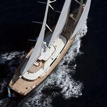 Caoz 14 Yacht Running Shot - Overhead