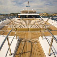 Regulus Yacht Foredeck