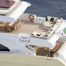 Veneta Yacht Aerial Upper Deck