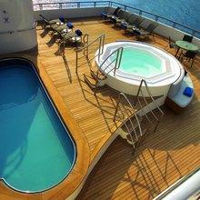 Turama Yacht Sun Deck & Jacuzzi