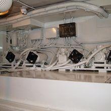 Paradis Yacht Engine/Mechanical Area