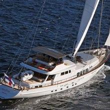 Corto Maltese Yacht Aerial - Stern