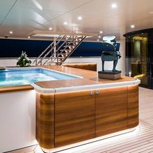 Here Comes The Sun Yacht Main Deck Swimming Pool