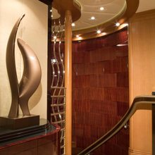 Reef Chief Yacht Foyer - Detail