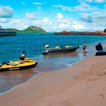 Exuma Yacht Beach Landing