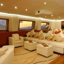 M5 Yacht Main Salon - Seating Area