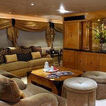 Caprice Yacht Main Salon