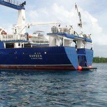 Sarsen Yacht Stern