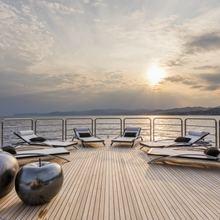 Suerte Yacht Sun Deck Aft