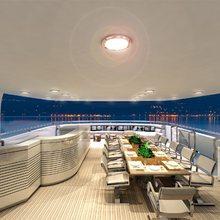 Natalina A Yacht Sundeck Dining