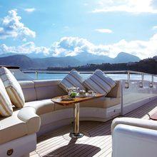 Majestic Yacht Sundeck - Seating