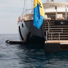 Caoz 14 Yacht Swim Platform