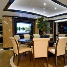 Veneta Yacht Dining Area