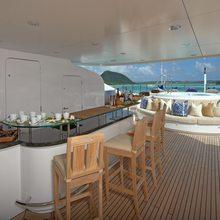 Ice Angel Yacht Exterior Bar