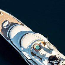Here Comes The Sun Yacht Aerial Helipad