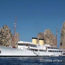 Talitha Yacht Profile - At Anchor
