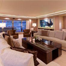 Natalina A Yacht Main Salon