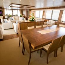 Regulus Yacht Formal Dining
