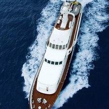 Something Cool Yacht Running Shot